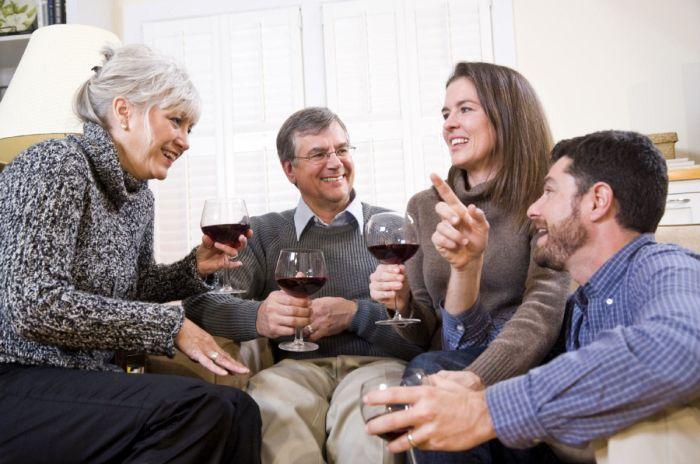 Llevarse bien con los suegros