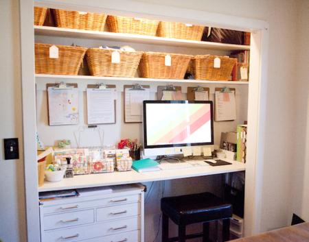 C mo hacer una oficina en casa hogar y familia la familia for Como construir una oficina
